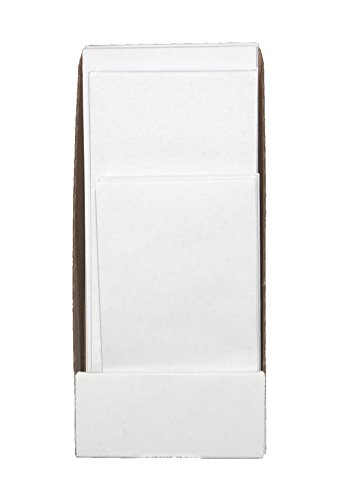 House Open Business Invitations (Envelopes Assorted Sizes–House Office Envelope Variety Pack – Self Seal Security Tinted Each Size Qty 25#10 Window #10 Regular #9 Regular #6 3/4 Regular,Desk Storage Box – 100 Count –Bright White)