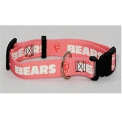 Chicago Bears Pink X-Small Pet Dog Collar (X-Small)