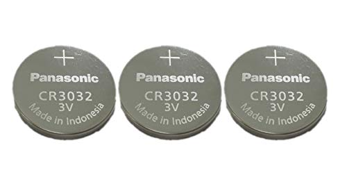 - Panasonic Battery, Lithium Button Cell Cr3032- Cr 3032 (3 Pieces)