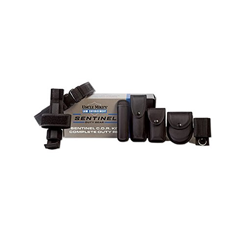 (Uncle Mike's Sentinel Duty Gear Kit Box (Medium, Black))