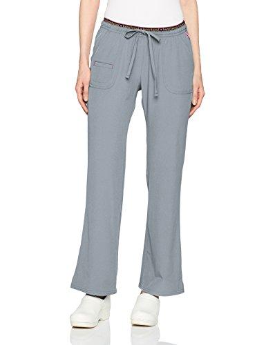 - HeartSoul Scrubs Women's Break On Through Heart Breaker Low Rise Drawstring Pant, Grey, Medium Petite
