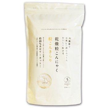 Drying grain konjac TsubuKon Kirari - 5 people min (65gX5 input) X2 bags set (pesticide-free) (low-calorie low carbs healthy food) by Tretes