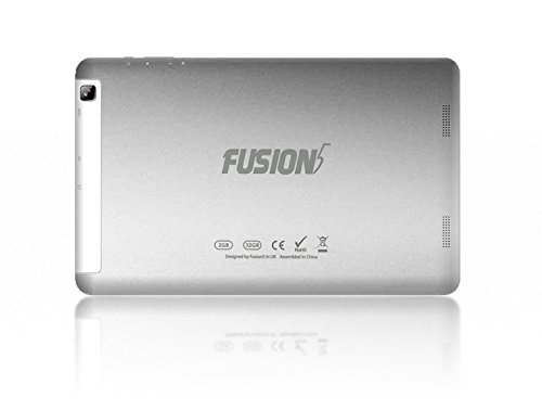 10.1'' Fusion5 104A GPS Android Tablet PC - 2GB RAM - 32GB Storage - Android 5.1 Lollipop - Bluetooth 4.0 - FM - 1280800 IPS Screen - 6000mAh - 2MP front and rear camera - Metallic finish
