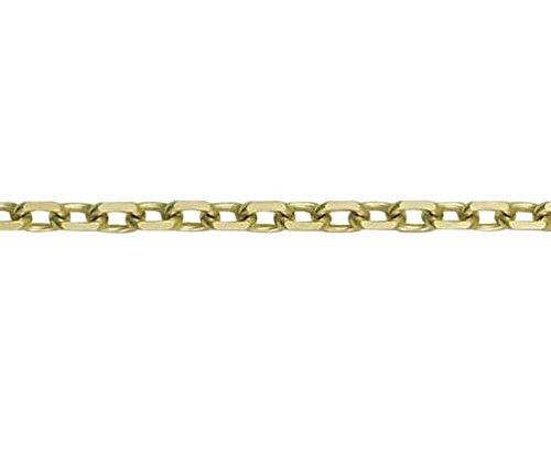 9ct or jaune angle Coupe Trace 19,1cm/Bracelet 19cm