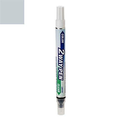ExpressPaint 2WayPen - Automotive Touch-up Paint for Honda Accord - Glacier Blue Metallic Clearcoat B-538M - Color + Clearcoat Only