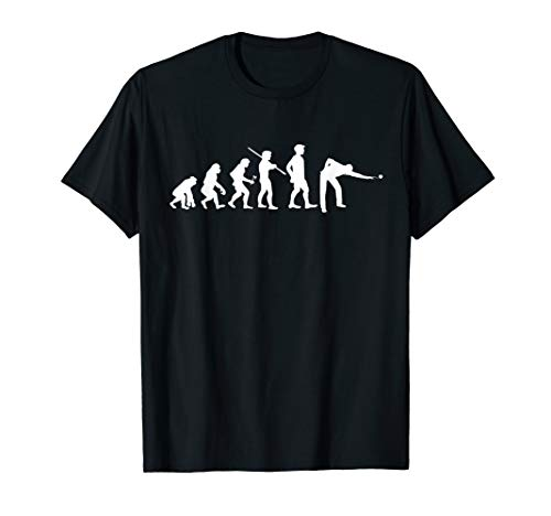 (Evolution Pool Funny T-shirt Pool Player Billiards Player)
