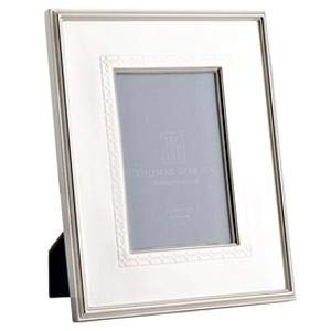 Thomas O'Brien Filigree Band Silverplated Picture Frame, 4