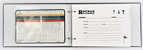 - Golf Scorecard Album Keeper | Rounds to Remember
