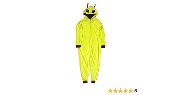 MJC Mens Space Alien Onesie Pajama