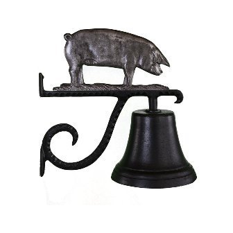Montague Metal Products Cast Bell with Swedish Iron Pig