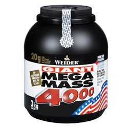(2 Pack) - Weider Nutrition - Mega Mass 4000 Vanilla | 3000g | 2 PACK BUNDLE