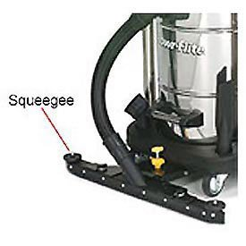 Front Mount Squeegee Kit For 15 Gallon Wet Dry Vacuum ()