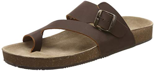 BATA Men BIO TOERING Leather Hawaii Thong Sandals
