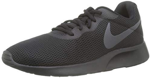 Nike Men's Tanjun Shoe Black/Dark Grey/Red Orbit/White Size 12 M US