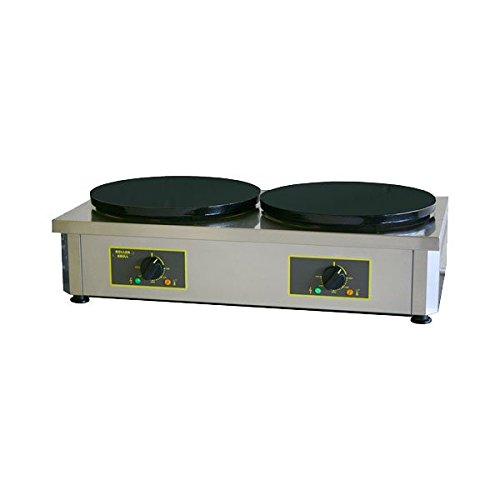 Equipex 400ED Sodir Double Plate Electric Crepe Machine