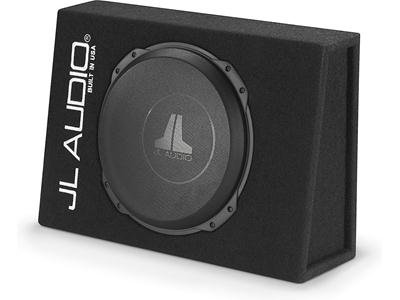 "JL Audio CS112TG-TW3 Sealed PowerWedge™ Truck Style Enclosure With One 12"" TW3 Subwoofer"
