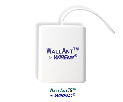 (WallAnt75TM Antenna for zBoost Wi-Ex YX560SL Indoor/Outdoor Compact Easy-Install)