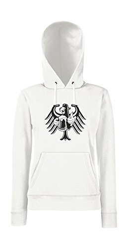 Textilmonster - Sudadera con capucha - para mujer Weiß
