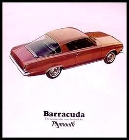 Plymouth Barracuda Formulas - 7