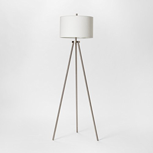 Ellis Collection Tripod Floor Lamp Nickel - Project 62 (Collection Floor Lamp)