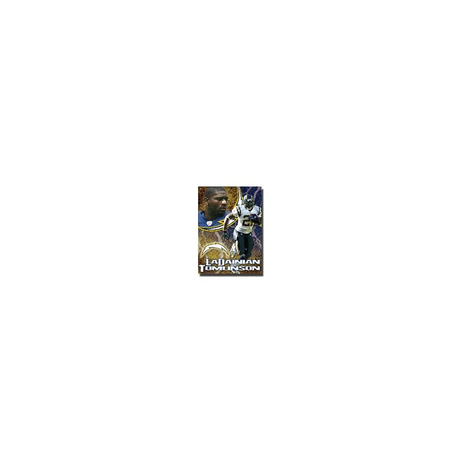 LaDainian Tomlinson #21 San Diego Chargers NFL Woven Tapestry Throw Blanket by Northwest (48x60)