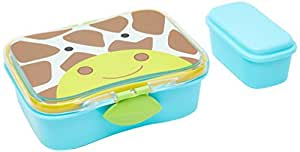 "Skip Hop Zoo Little Kid Lunch Kit, Jules Giraffe, 6.75"" x 5.35"" x 2.25"""