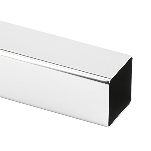 Prime-Line MP59030 Replacement Towel Bar, 3/4in x 36in, Extruded Aluminum, Square Tubing, Pack of 1