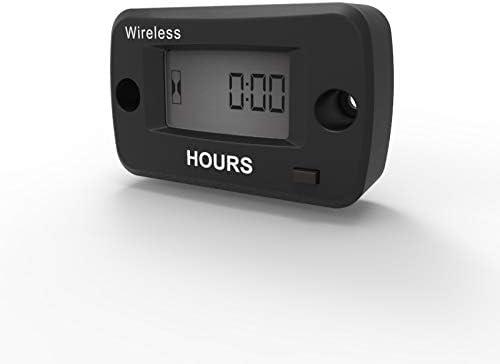 Runleader Digital Wireless Stundenzähler Vibrationsaktiviert Wartungserinnerung Rücksetzbarer Job Timer Abschalten Der Benutzersperre Verwendung Für Den Motor Gewerbe Industrie Wissenschaft