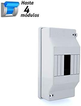 Caja de distribución superficie 4 módulos SOLERA: Amazon.es ...