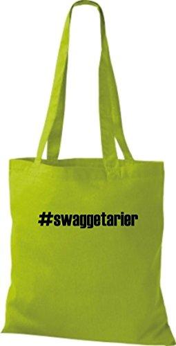 Citron Pochette Shirtstown En Hashtag Vert Swaggetarier Tissu ZBaxnU