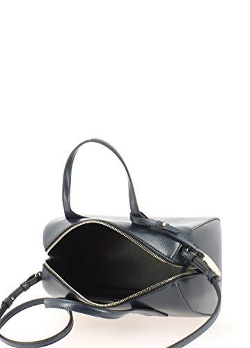 Armani Marine Bleu Handbag Handle Emporio Twin Noir Femme 6qvd6wF