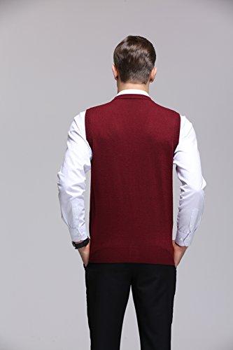 Sans Fulier Pull Homme Manche Rouge BB5PwqS