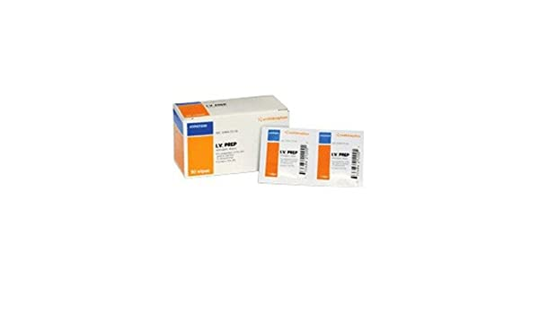 Smith Nephew - Toallitas antisépticas Smith & sobrino iv prep 50: Amazon.es: Salud y cuidado personal