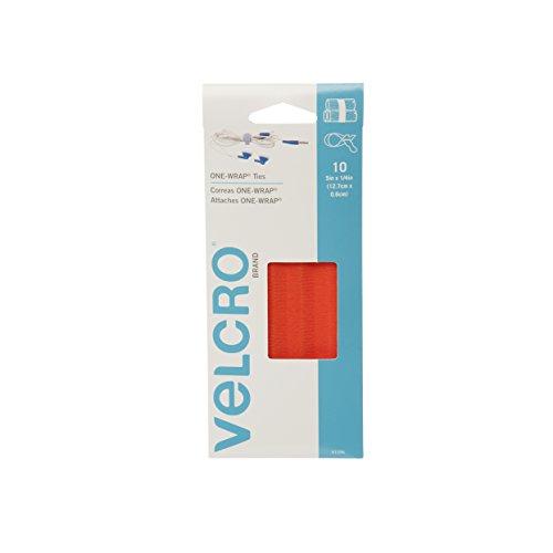 VELCRO Brand ONE WRAP Cables Orange