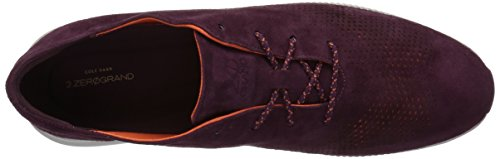Cole Haan Womens 2.Zerogrand Laser Wing Oxford Malbec Suede Bxzzpvcu2