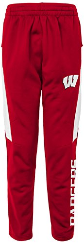 Wisconsin Badger Sweatpants - NCAA by Outerstuff NCAA Wisconsin Badgers Youth Boys