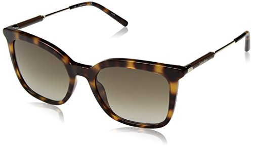 Calvin Klein Women's Ck3204s Square Sunglasses, Tortoise, 53 mm by Calvin Klein