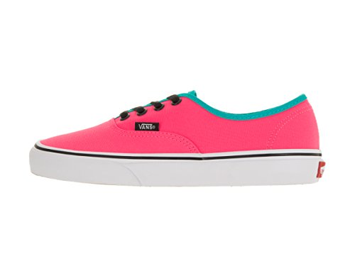 Neon Authentic Vans Pink Vans Authentic Neon Pink Black wZFO1qfp