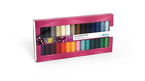 Mettler Silk Finish Thread Kit with 28 Reels by Mettler