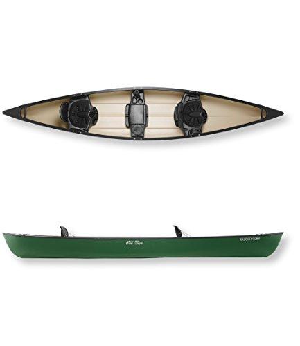 Old Town Canoes & Kayaks Saranac 160 Recreational Family Canoe, Green