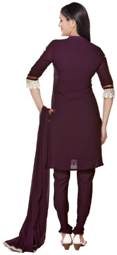 In-Sattva-Colors-Womens-Indian-Ethnic-Kurta-Tunic-with-Churidar-Dupatta-Set-Purple-Large