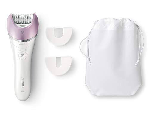 Philips Satinelle Advanced Hair Removal Epilator, For Legs, Underarms, Bikini and Face (BRE615)