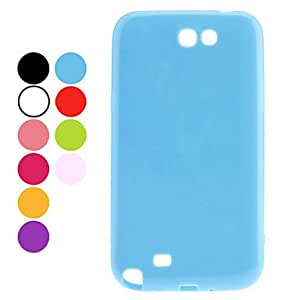 Durable Plastic Samsung Mobile Phone Back Covers for N7100(9 Colors) --- COLOR:Rose