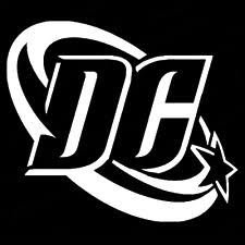 DC+Comics Products : DC Comics Logo WHITE Vinyl Car/Laptop/Window/Wall Decal