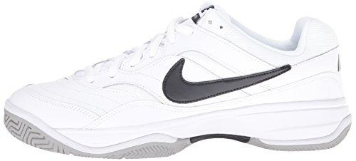 NIKE Men's Court Lite Tennis Shoe, White/Medium Grey/Black, 6.5 D(M) US by Nike (Image #5)