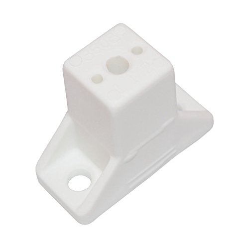 (Drawer slide spacer white 50/bag 1-1/2