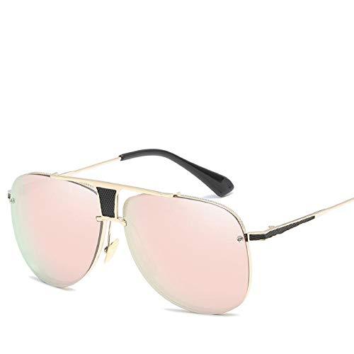 c6cd3ebd84e98 Metal Beams Sunglasses Almonds Mirror Men and Women Sunglasses - Grey   Amazon.ae  WBaby