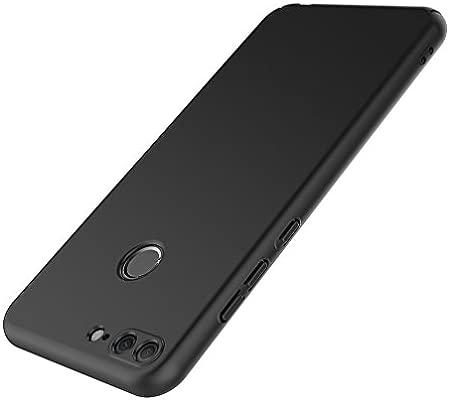 AICEK Funda Honor 9 Lite, Negro Dura Ultra Slim Fundas para Huawei ...
