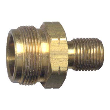Fairview Fittings 2093 Cylinder Primus By Propane Thread 1-20 Male Cyl, M14X1.5 (W/Check) X 9/16-18 L.H. Pack of 2 (Cylinder Primus)