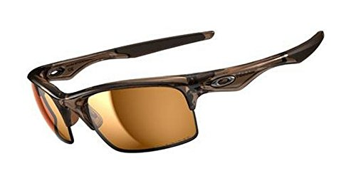 Oakley Bottle Rocket Men's Polarized Active Sports Sunglasses/Eyewear - Brown Smoke/Bronze / One Size Fits - Offers Oakley